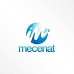 JUN_KATAOKAさんの「mecenat」のロゴ作成への提案