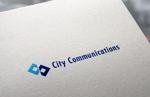 電気・通信業 City Communications ロゴへの提案