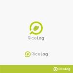 稲作を支援するIoT Webサービス「RiceLog」のロゴへの提案