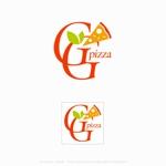 itohsyoukaiさんの手作りの冷凍ピザ通販サイト「GGpizza」のロゴ作成依頼への提案