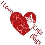 犬猫イラストのTシャツ・デザインへの提案