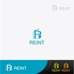 不動産 団地リノベーション事業 買取再販業 REINT ロゴへの提案