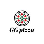 germer_designさんの手作りの冷凍ピザ通販サイト「GGpizza」のロゴ作成依頼への提案