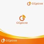 chiaroさんの手作りの冷凍ピザ通販サイト「GGpizza」のロゴ作成依頼への提案