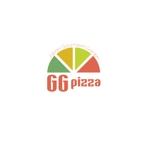 calimboさんの手作りの冷凍ピザ通販サイト「GGpizza」のロゴ作成依頼への提案