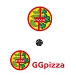 creatorneco2さんの手作りの冷凍ピザ通販サイト「GGpizza」のロゴ作成依頼への提案