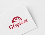 ue_taroさんの手作りの冷凍ピザ通販サイト「GGpizza」のロゴ作成依頼への提案