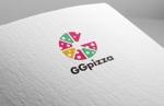 fujiseyooさんの手作りの冷凍ピザ通販サイト「GGpizza」のロゴ作成依頼への提案