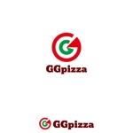 hirokipsさんの手作りの冷凍ピザ通販サイト「GGpizza」のロゴ作成依頼への提案