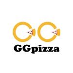 metadesign-labさんの手作りの冷凍ピザ通販サイト「GGpizza」のロゴ作成依頼への提案