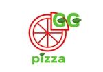 mato29さんの手作りの冷凍ピザ通販サイト「GGpizza」のロゴ作成依頼への提案