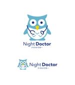 horieyutaka1さんのナイトドクターのロゴ作成への提案