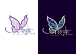 YouTubeチャンネル「日本夜蝶の会」のロゴへの提案