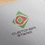 zasshedesignさんの中堅・中小企業向けのシステム監視サービス「CustomerStare」(サービス名)のロゴへの提案