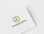 ue_taroさんの中堅・中小企業向けのシステム監視サービス「CustomerStare」(サービス名)のロゴへの提案