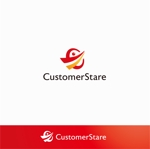 Doing1248さんの中堅・中小企業向けのシステム監視サービス「CustomerStare」(サービス名)のロゴへの提案