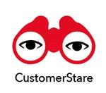 AkihikoMiyamotoさんの中堅・中小企業向けのシステム監視サービス「CustomerStare」(サービス名)のロゴへの提案