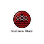 komorebi-lcさんの中堅・中小企業向けのシステム監視サービス「CustomerStare」(サービス名)のロゴへの提案