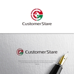 VEROさんの中堅・中小企業向けのシステム監視サービス「CustomerStare」(サービス名)のロゴへの提案