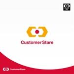 Morinohitoさんの中堅・中小企業向けのシステム監視サービス「CustomerStare」(サービス名)のロゴへの提案