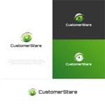 Puchi2さんの中堅・中小企業向けのシステム監視サービス「CustomerStare」(サービス名)のロゴへの提案