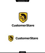 queuecatさんの中堅・中小企業向けのシステム監視サービス「CustomerStare」(サービス名)のロゴへの提案