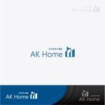 注文住宅工務店「エーケーホーム」ロゴ作成依頼への提案