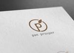 late_designさんのパン屋「pan prosper」のロゴへの提案