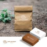 doremidesignさんのパン屋「pan prosper」のロゴへの提案