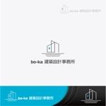 bo-ka建築設計事務所のロゴマークデザインへの提案