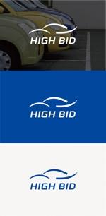 tanaka10さんの自動車買取チェーン店「お車買取・ハイビッド」のロゴへの提案