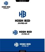 queuecatさんの自動車買取チェーン店「お車買取・ハイビッド」のロゴへの提案