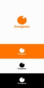 インフルエンサー事業会社「株式会社Orangestar」の企業ロゴへの提案