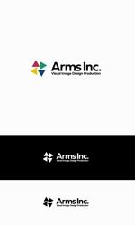 映像広告制作会社 Arms Inc. ロゴ作成への提案