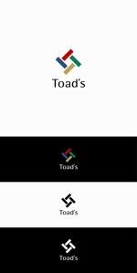 不動産仲介、投資ファンド運用会社【Toad's】のロゴへの提案