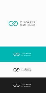 口の中を守る歯科医院「つぼ川歯科医院」のロゴへの提案