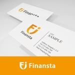 金融専門職の人材サービス「Finansta(フィナンスタ)」のロゴへの提案