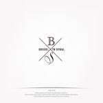 mg_webさんのパーマヘアスタイル「ブルックリンスパイラル」のロゴへの提案