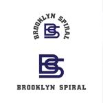 stackさんのパーマヘアスタイル「ブルックリンスパイラル」のロゴへの提案