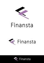 heavenillustさんの金融専門職の人材サービス「Finansta(フィナンスタ)」のロゴへの提案
