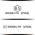 asrytextileさんのパーマヘアスタイル「ブルックリンスパイラル」のロゴへの提案