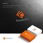 doremidesignさんの金融専門職の人材サービス「Finansta(フィナンスタ)」のロゴへの提案