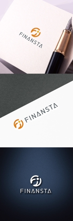 chapterzenさんの金融専門職の人材サービス「Finansta(フィナンスタ)」のロゴへの提案