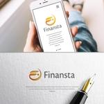 VEROさんの金融専門職の人材サービス「Finansta(フィナンスタ)」のロゴへの提案