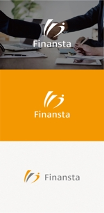 tanaka10さんの金融専門職の人材サービス「Finansta(フィナンスタ)」のロゴへの提案