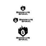 ronsunnさんのパーマヘアスタイル「ブルックリンスパイラル」のロゴへの提案