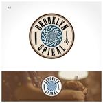 noses_design_companyさんのパーマヘアスタイル「ブルックリンスパイラル」のロゴへの提案