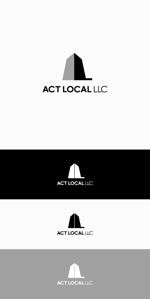 地域に貢献したい不動産屋「ACT LOCAL」のロゴへの提案