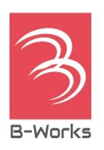 外壁塗装専門店 B-Works の会社ロゴ制作への提案
