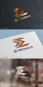 moguaiさんの外壁塗装専門店 B-Works の会社ロゴ制作への提案